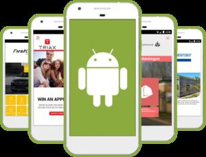 Android app udvikling