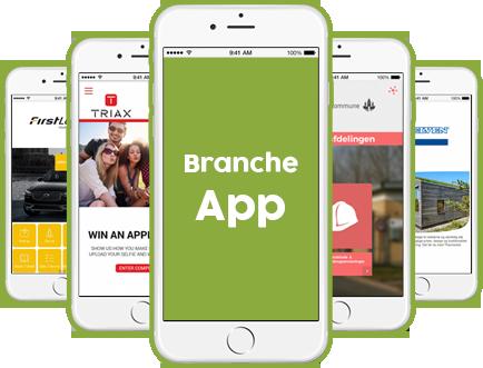 Branche app telefoner